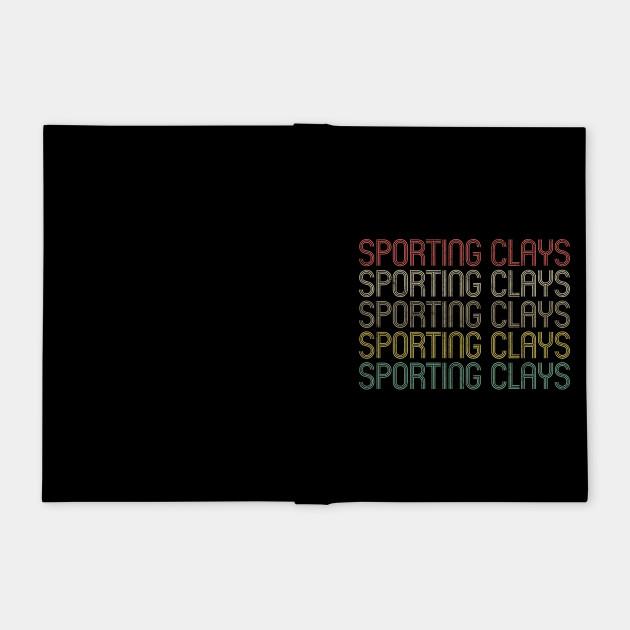 Retro Style Sporting Clays Design