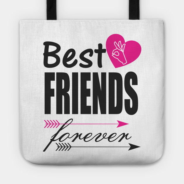 best friends forever friends tote teepublic