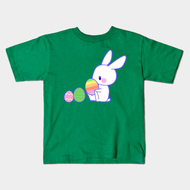aa3ab26df Easter Bunny Colorful Pastel Eggs Artistic Cute Gifts Kids T-Shirt