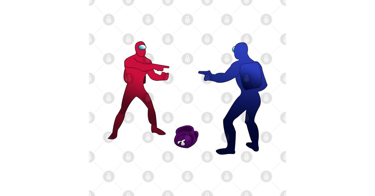 Among us Game Meme - Among Us - Sticker | TeePublic