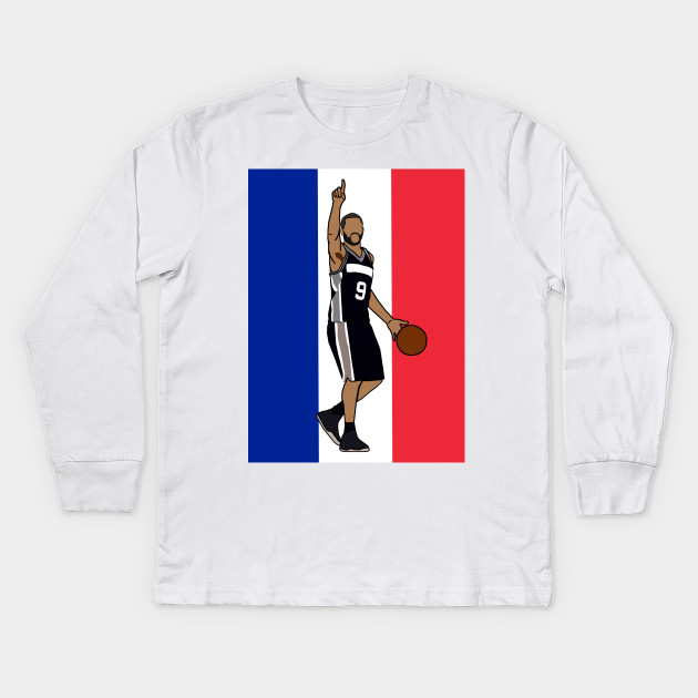 brand new 471c8 c20c4 Tony Parker 'French Flag' - NBA San Antonio Spurs