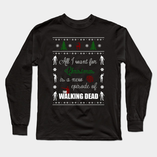 All I Want For Christmas Is A New Episode Of The Walking Dead Ugly