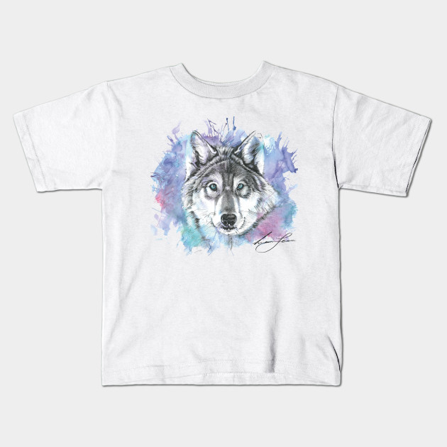 ce32f18b Winters Wolf - Creative Life - Kids T-Shirt | TeePublic