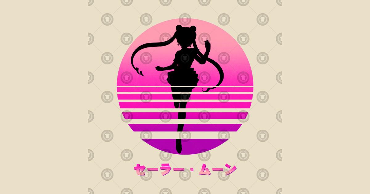sailor moon - usagi tsukino - vaporwave - sailor moon