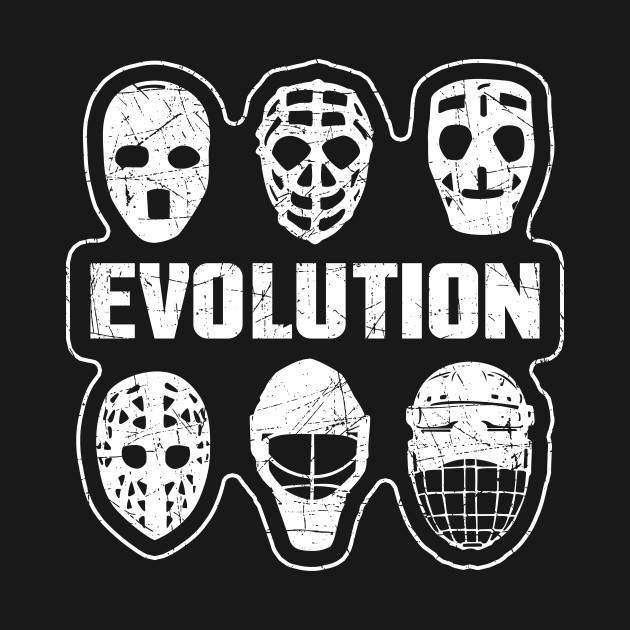 Goalie Hockey Mask Evolution Hockey Mask T Shirt Teepublic