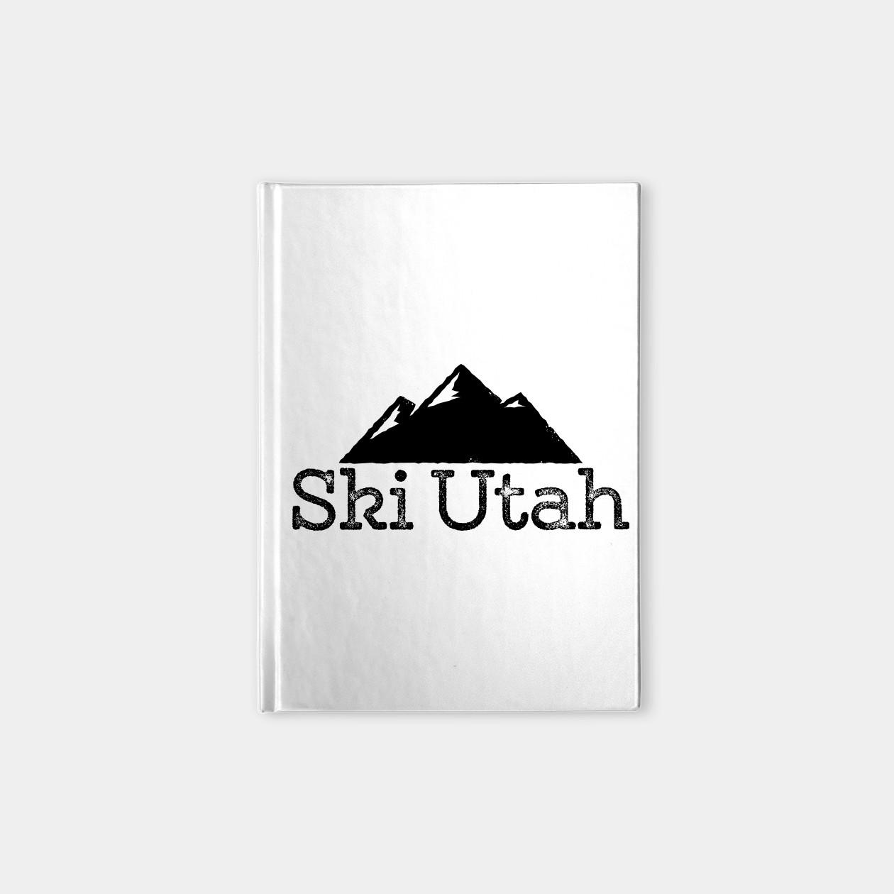 Shirt design utah - Ski Utah Vintage T Shirt Design