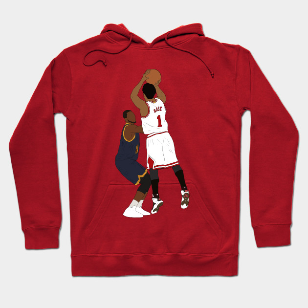 Derrick Rose Game Winner - Derrick Rose - Hoodie  f33884d0281f