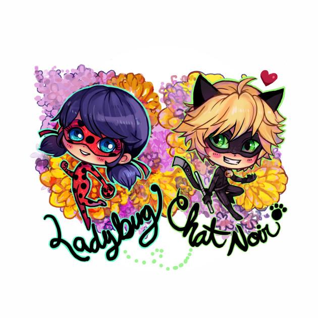 Ladybug and Chat