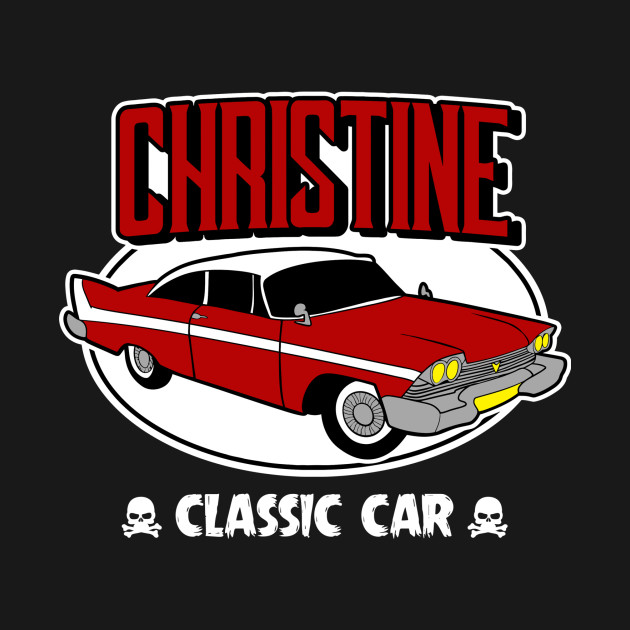 Christine Classic Car Horror T Shirt Teepublic