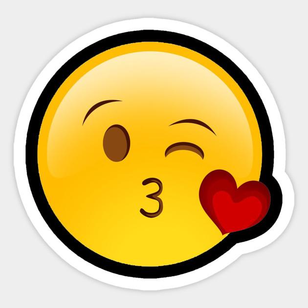 Emoji Face Blow Kiss Shirt
