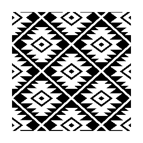 navajo designs patterns. Aztec Symbol Big Pattern White On Black Sticker Navajo Designs Patterns