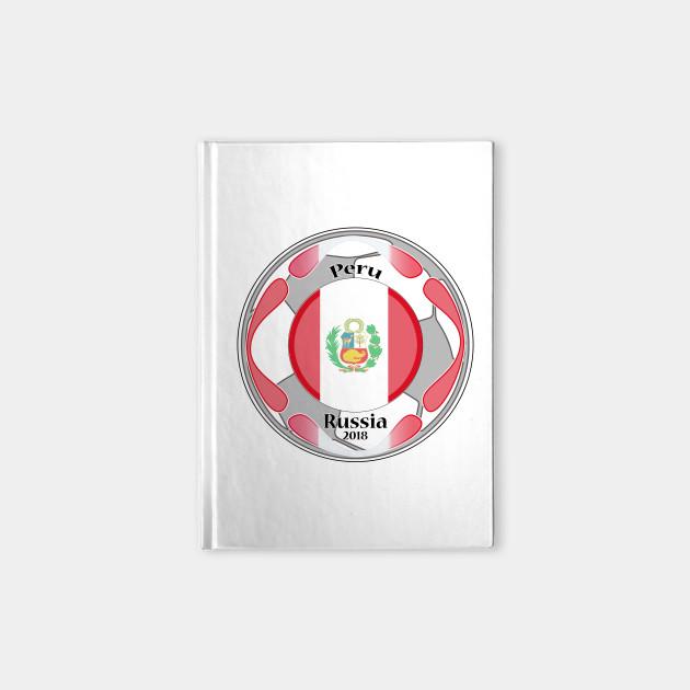 t shirt flag peru world cup 2018 peru to the world cup notebook