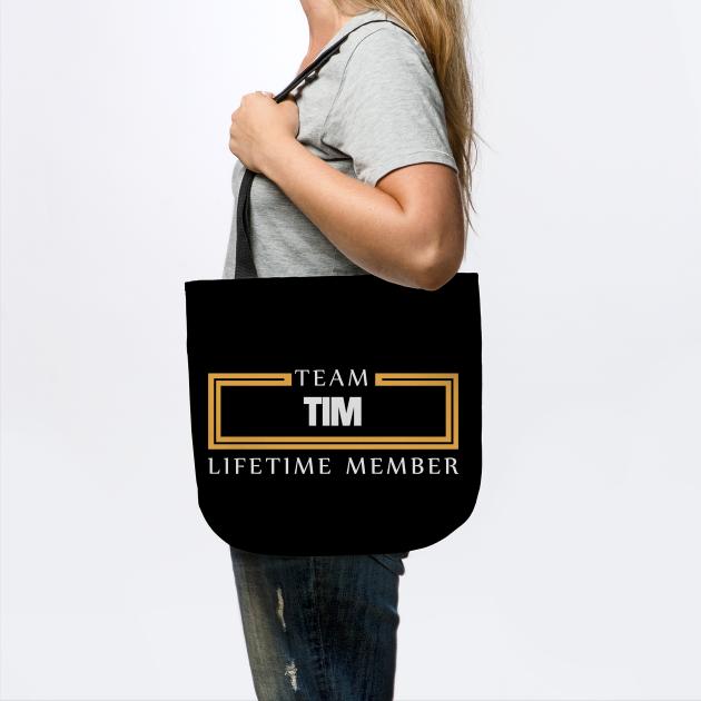 Team Tim Lifetime Member Surname