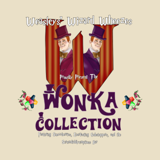 Weasleys' Wonka Collection t-shirts
