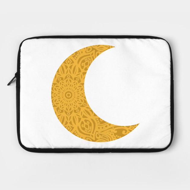 Mandala Yellow Moon