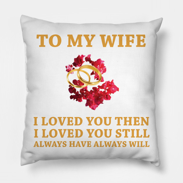 Gift For Wife Birthday Wedding Shower Mug Her New Bride To Be Spouse Engagement Pillow
