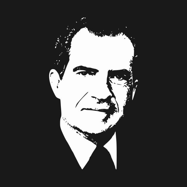 Richard Nixon In Color: Richard Nixon - Richard Nixon - T-Shirt