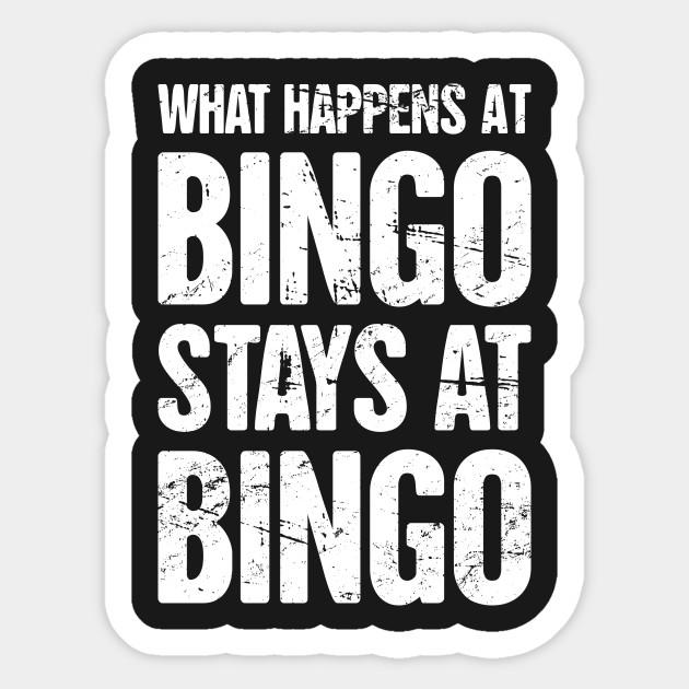 What Happens at Bingo Stays at Bingo Boys Short-Sleeved Shirt