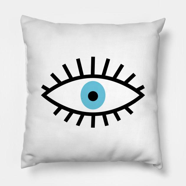 Blue Evil Eye Talisman Illustration