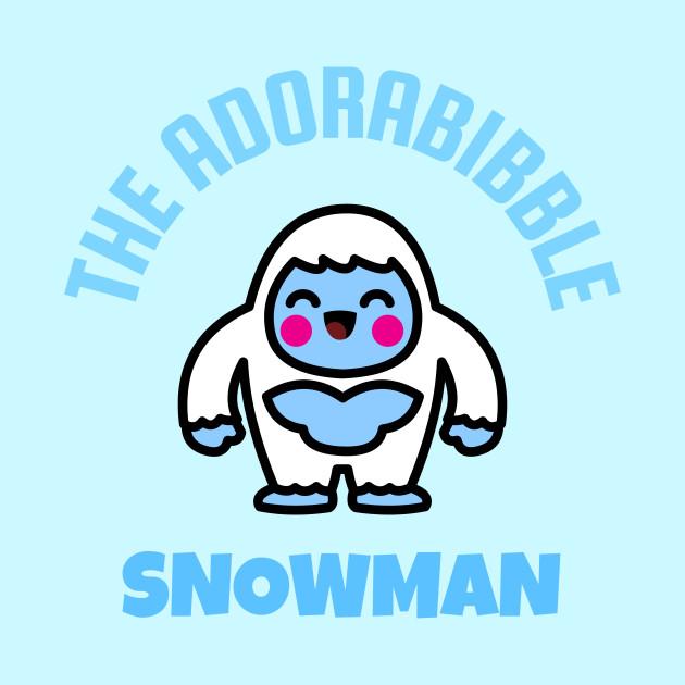 Adorabibble Snowman