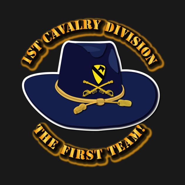 1st cavalry division cav hat 1st cavalry tshirt