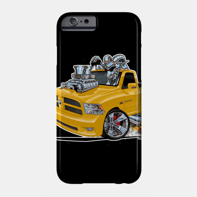 reputable site dbdf0 bc6c1 Dodge Ram Yellow by vincecrain