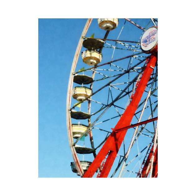 Carnival Midway - Ferris Wheel Closeup