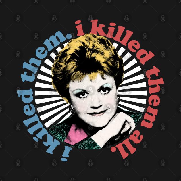 Murder She Wrote / 80s Retro TV Design