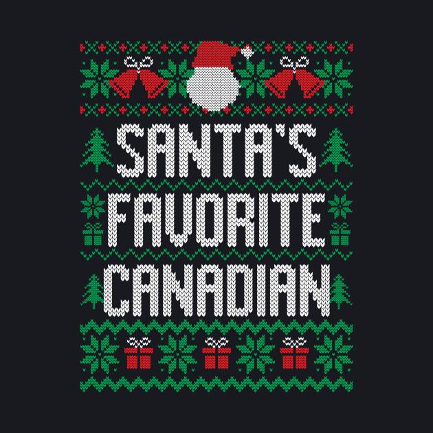 Santa's Favorite Canadian