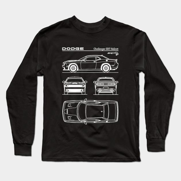 8e0e8340 Dodge Challenger SRT Hellcat Patent White