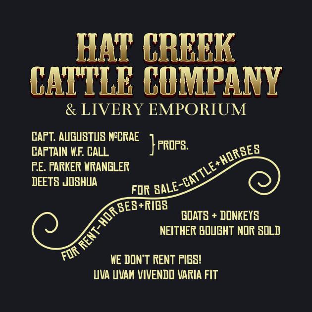 Hat Creek Sign