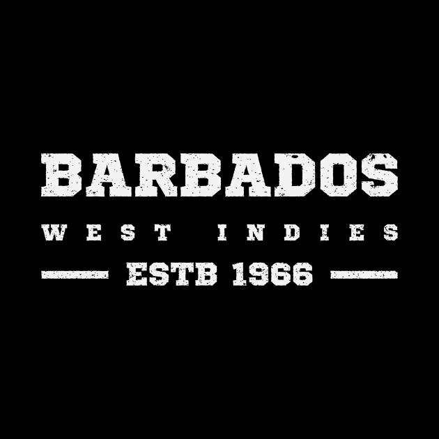 Barbados Estb 1966 West Indies