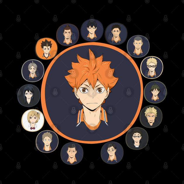 Haikyuu!!: Karasuno High - All Characters