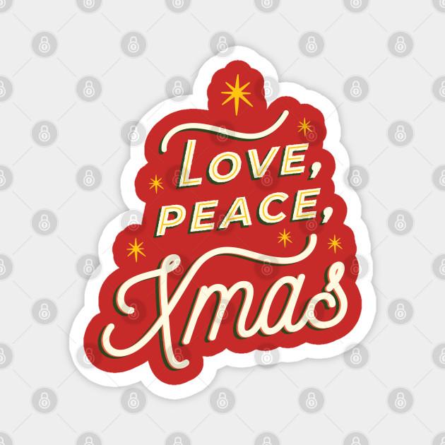 LOVE PEACE XMAS