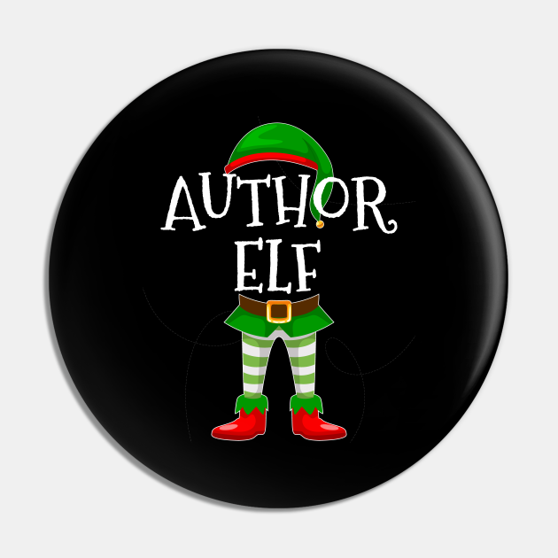 Author Elf Matching Family Christmas Gift Design