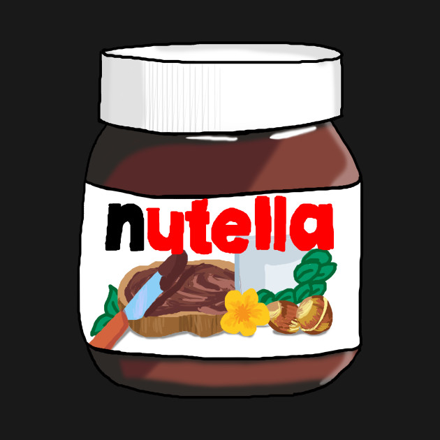 Love nut nutella t shirt teepublic