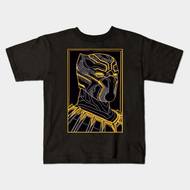 The King Of Wakanda - Black Panther - Black Panther - Kids T-Shirt ... e81e51142