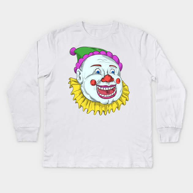 vintage circus clown smiling drawing vintage circus clown smiling