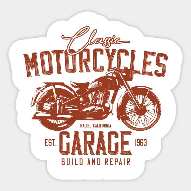Classic Motorcycles Garage California