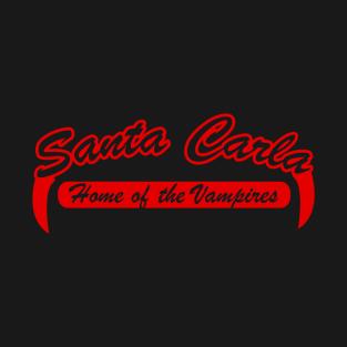 Santa Carla Home of the Vampires t-shirts
