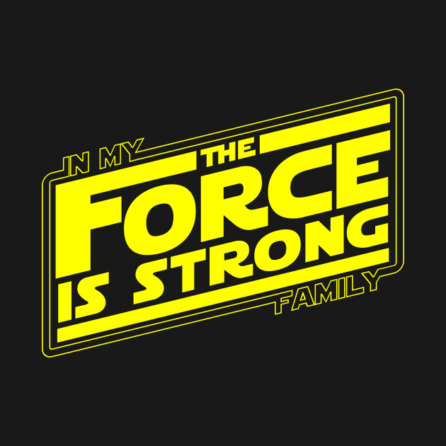 The force is strong in my family... Retro Empire Edition