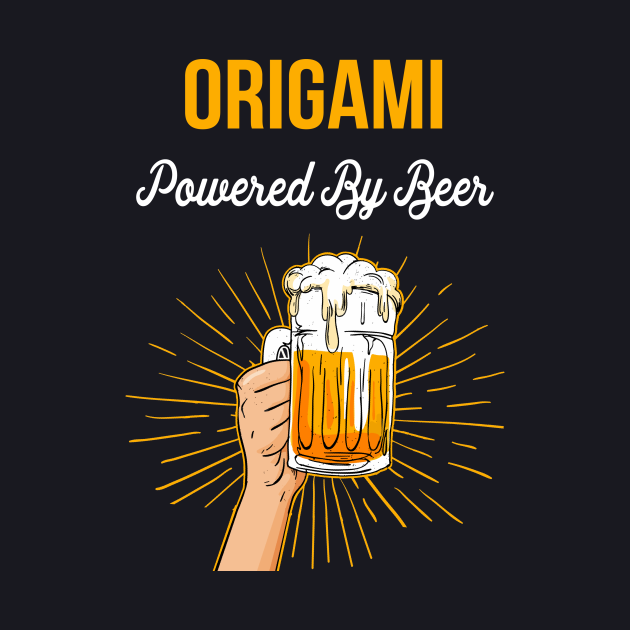 Beer Lover Origami Gift Powered By Beer