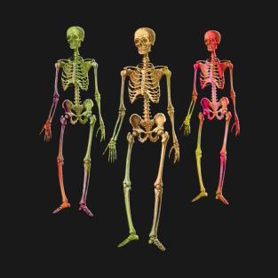 Halloween Living Dead Skeletons t-shirts