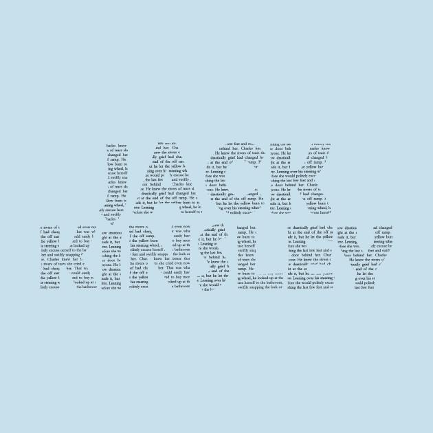 Jack Kinsley Text Black Print