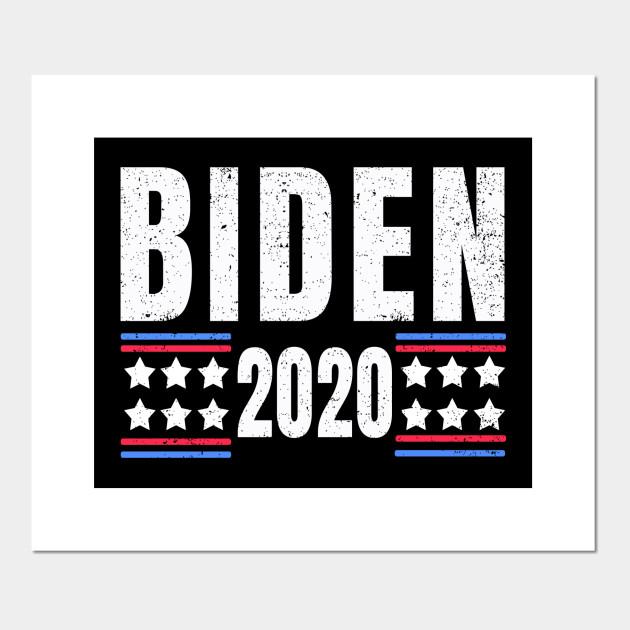 Biden 2020 Shirt Joe Biden President 2020 Campaign Joe Biden For President Joe 2020 Biden Supporter Vote Biden 2020 Liberal Political Joe Biden For President Poster E Stampa Artistica Teepublic It