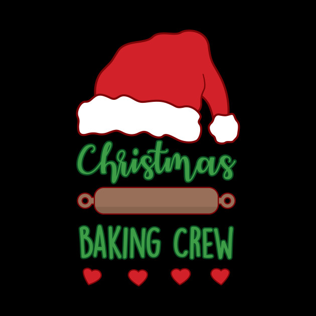 Cute Christmas Baking Crew