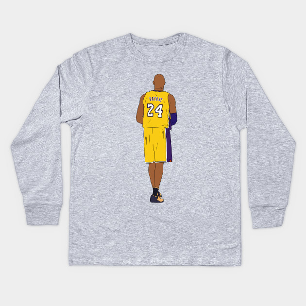 Kobe Bryant Walk-Off - Kobe Bryant - Kids Long Sleeve T-Shirt ... c8e4f01fa