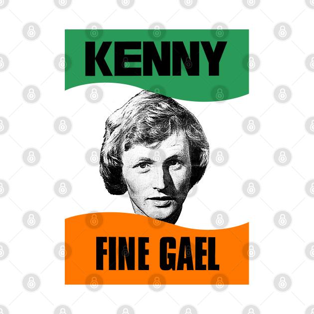 Enda Kenny / Fine Gael Retro Election Poster