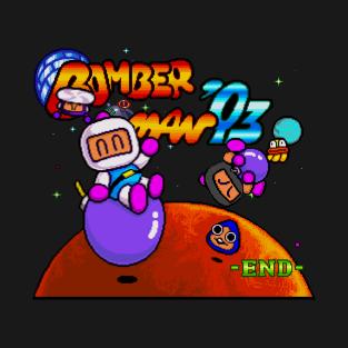 PC Engine BomberMan'93 END t-shirts