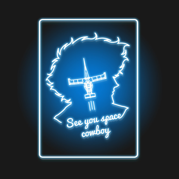 Neon Space Cowboy T-Shirt thumbnail